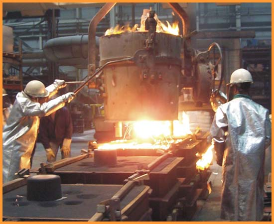 Foundry Laddle