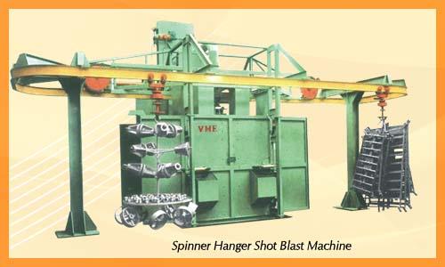 Spinner Blasting Machine