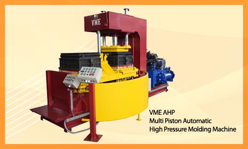 VME F3 - Multi Piston Automatic High Pressure Molding Machine